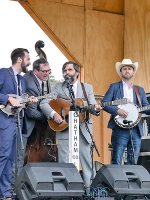 Chatham County Line, pictured from a 2019 concert, was one of several bands slated to participated in the Earl Scruggs Music Festival in September. Now the inagural festival honoring the late bluegrass pioneer is on hold until 2021 due to COVID-19 restrictions. The band will be headlining the drive-in concert scheduled in its place though.