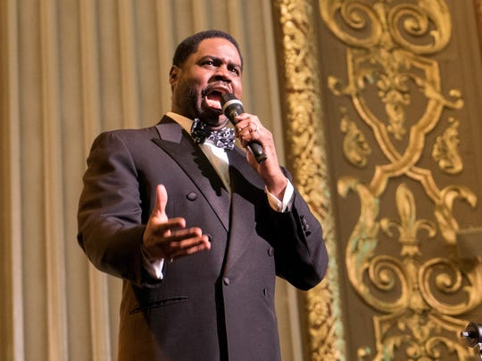 "Rod Dixon's singing is both bluesy and operatic in ""Too Hot to Handel."""