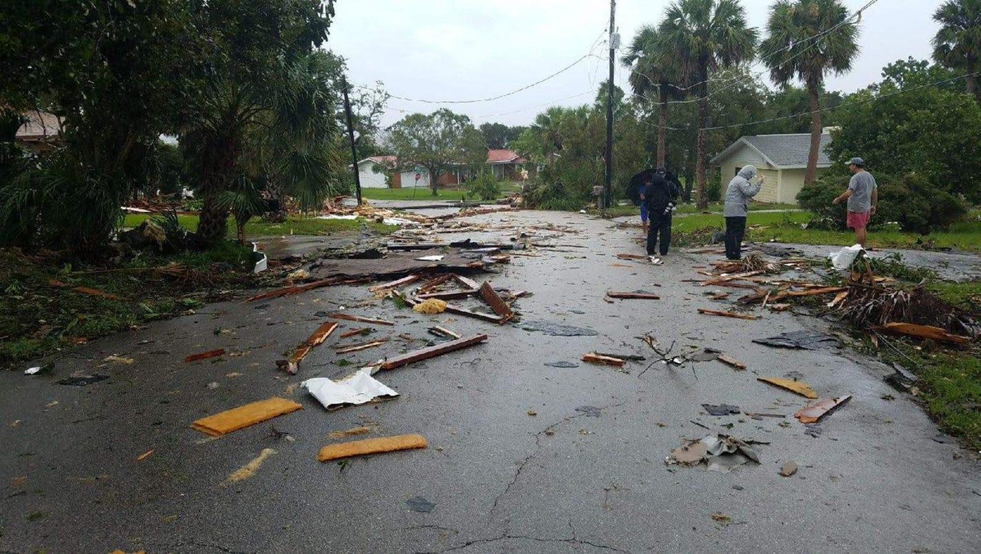 Police: Palm Bay tornado destroys six mobile homes