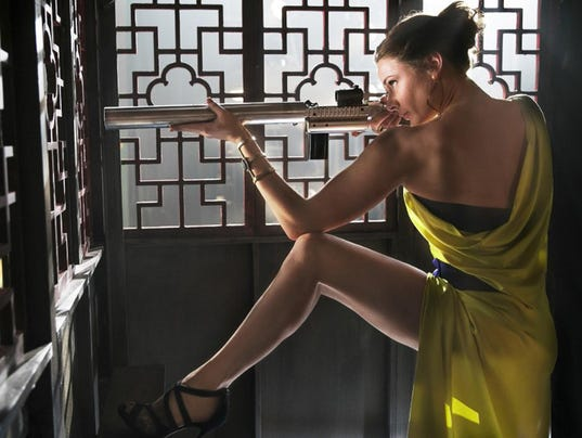 ëMission: Impossibleí star Rebecca Ferguson: ready, set, action