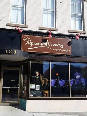 Alpaca Country Clothing and Gifts at 123 S. Main St. in Canandaigua.