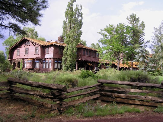 Architect Charles Whittlesey designed two almost identical homes for Flagstaff lumber barons Timothy and Michael Riordan and their families.
