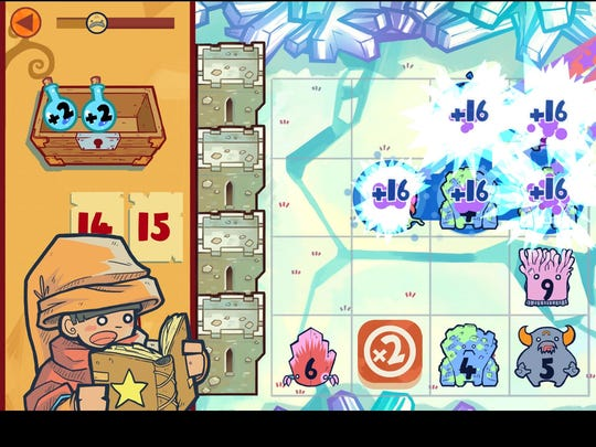 """In the fast-paced tower defense game """"The Counting"""