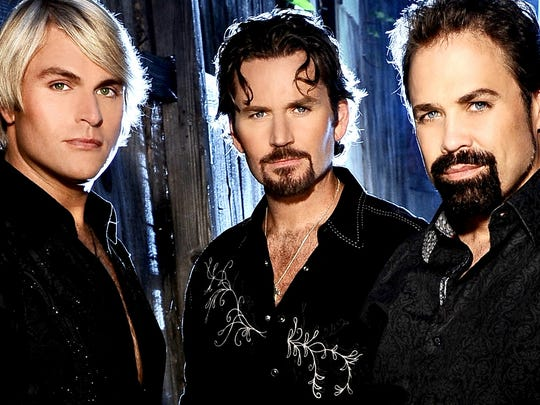 The Texas Tenors, from left: Marcus Collins, JC Fisher and John Hagen.
