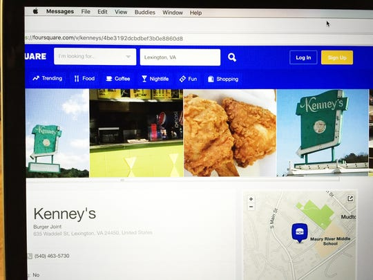 Kenney's still has locations in Lexington and Buena Vista. There used to be one in Staunton.