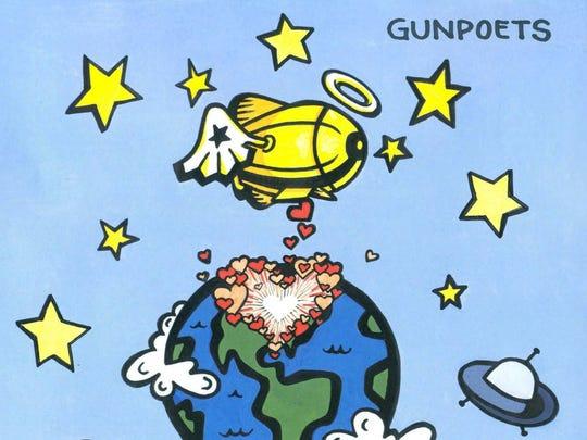 """""""Bombs Away!"""" is the third studio album from Gunpoets."""