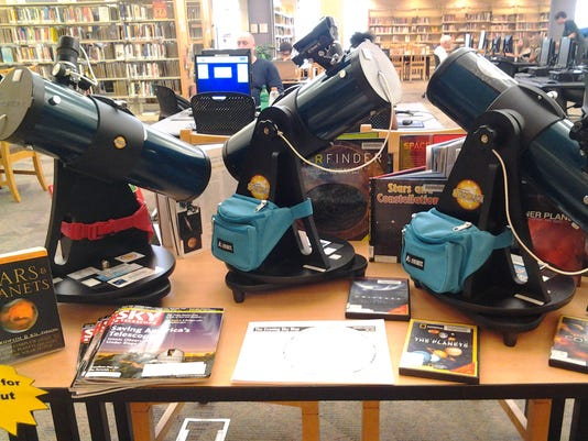 Telescopes at Fountain Hills Branch Library
