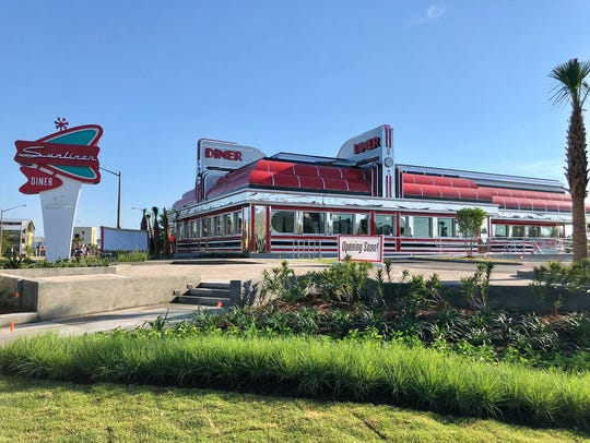 Sunliner Diner at 100 E. Second Ave. in Gulf Shores,