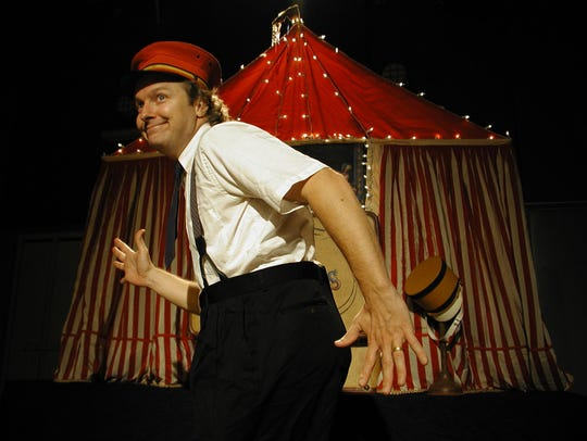 Kevin O'Keefe in Circus Minimus
