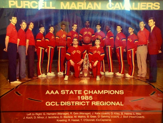 Purcell Marian's championship basketball squad included