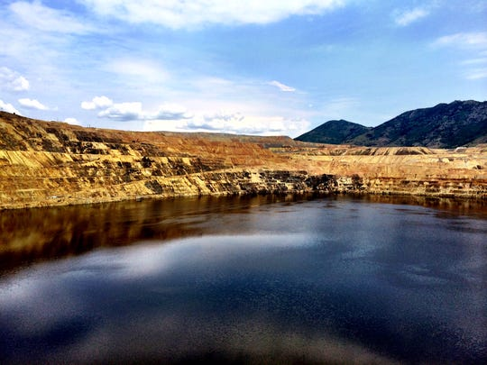 The Berkeley Pit in Butte