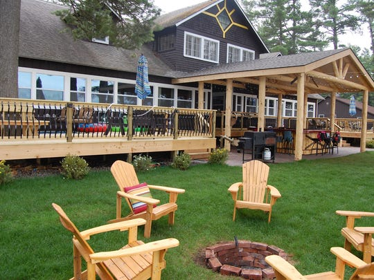 "The Musky, a large family rental in the Minocqua area, will be on a new Discovery Channel series titled ""Epic Bar Builds."""