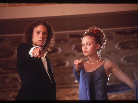 Heath Ledger and Julia Stiles star in the 1999 comedy