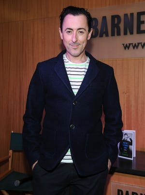 "Alan Cumming attends the Alan Cumming Book Launch for ""Not My Father's Son"" on October 6, 2014 in New York City."