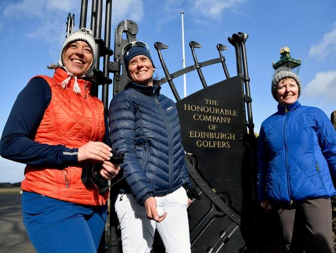 Anna Diertrich, Pascale Reinhard and Janet Siehnthiler