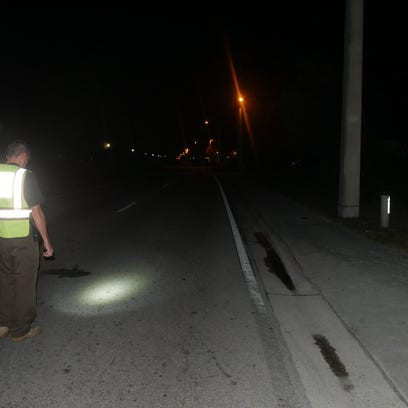 A Port St. Lucie traffic homicide detective searches