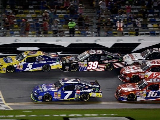 NASCAR Nationwide Daytona Auto Racing