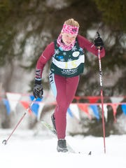 North Country's Callie Young competes in the girls