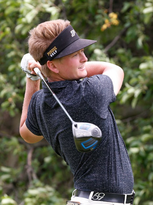 LAF NCAA men's golf regional: Purdue in fourth