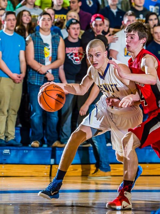 St. Johns vs DeWitt Basketball
