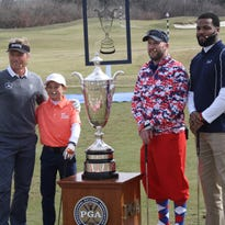 Former Michigan football player Braylon Edwards adds golf trophy to mantle