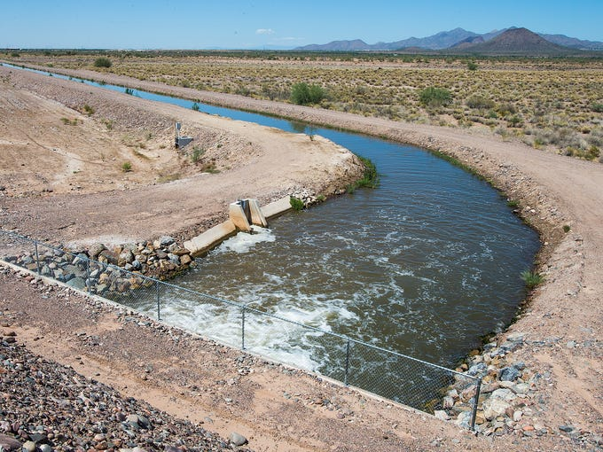 Where does Arizona's water come from? Water from these sources adds up to <b>7.1 million acre feet</b> of water. Source: Arizona Department of Water Resources