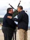 President Obama and Gov. Christie after Sandy. (AP Photo)