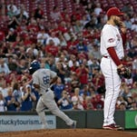 Dodgers at Reds, Aug. 26