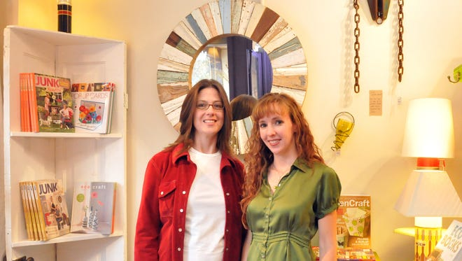 Shelly Piper (left) and Natalie Wood are co-owners of the Foundry.