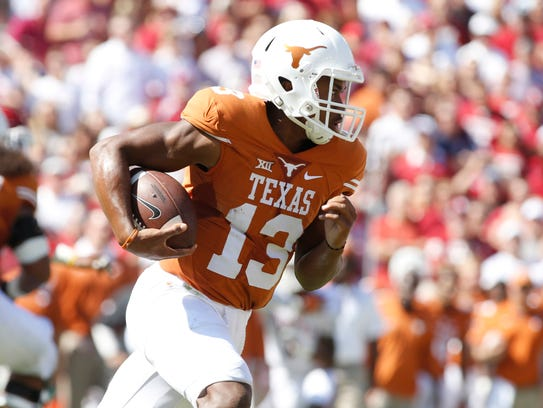 Jerrod Heard is Texas' leading returning passer, but