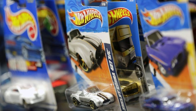 A shoplifter allegedly tried to steal nine Hot Wheels cars from an Evansville store by hiding them in his pants.