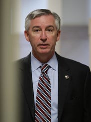 Prosecutor Kevin Steele, seen at the Montgomery County,