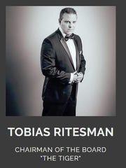 A screenshot of Tobias Ritesman's biography on his