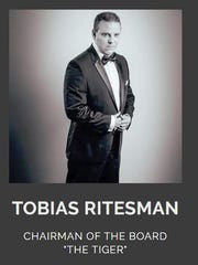 A screenshot of Tobias Ritesman's biography on his website for Ritesman Enterprises. His registration for the website has since expired.