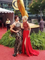 Shanna Forrestall and Liz Fenning at the 69th Primetime
