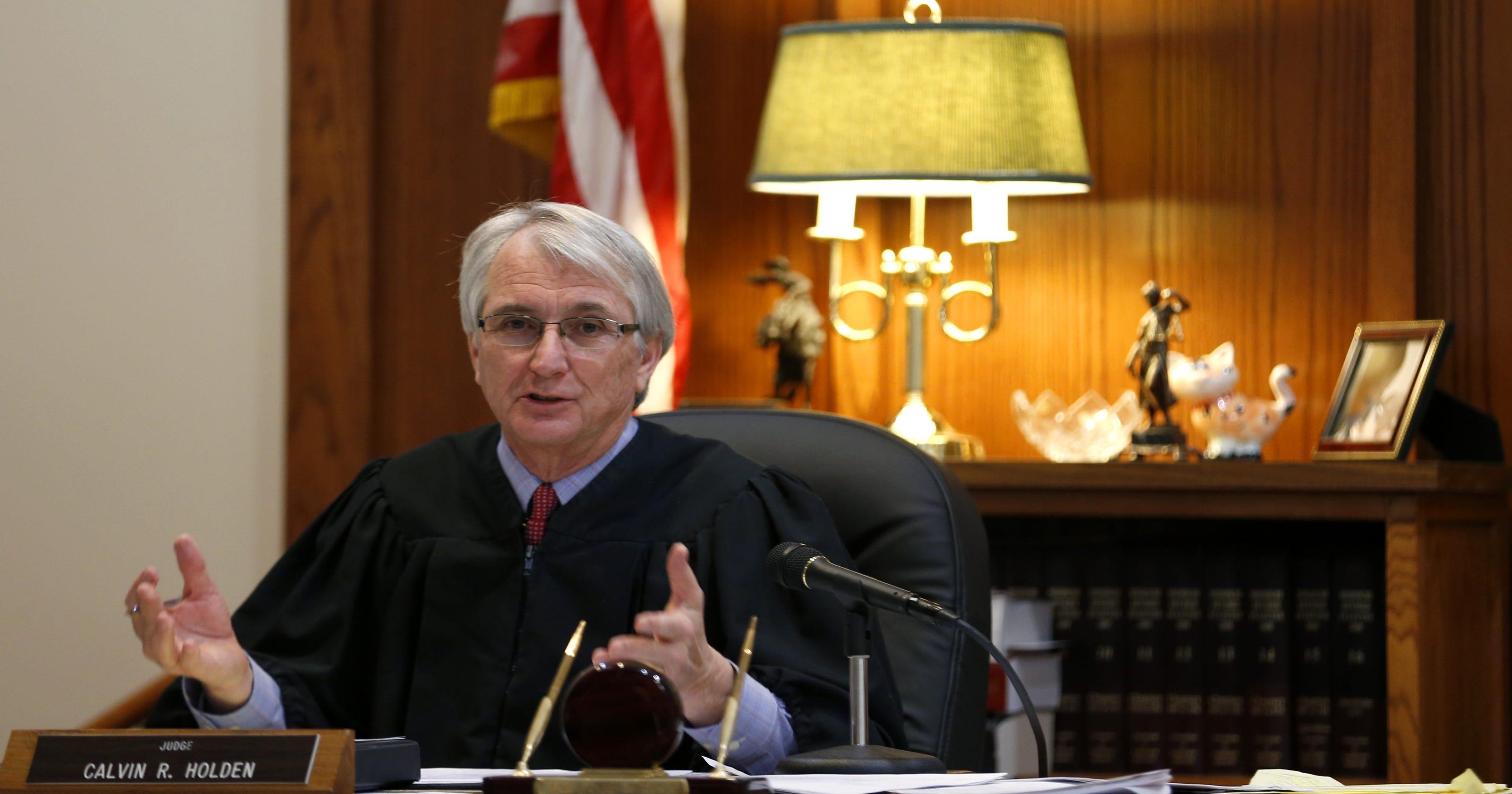 Greene County judge Calvin Holden to create domestic ...
