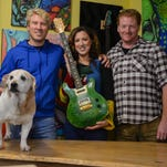 Guitar maker starts charity for rescued Millsboro dogs