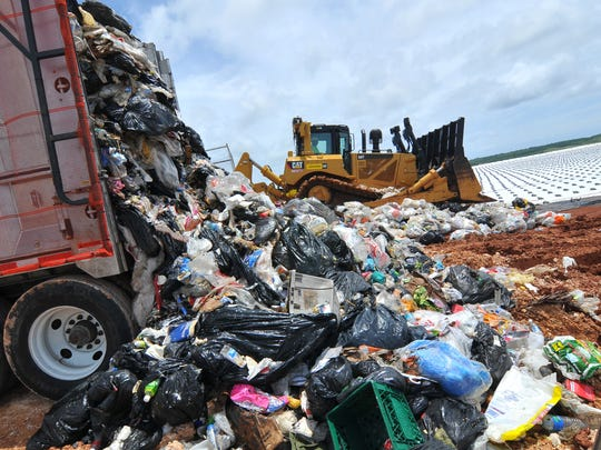 The Layon Landfill is shown in this file photo.