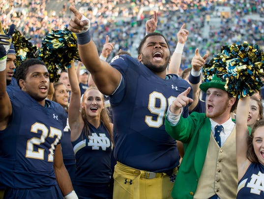 ncaa football notre dame how many college football players are there
