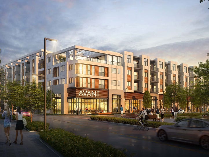 The 227-unit residential space Avant will be the first