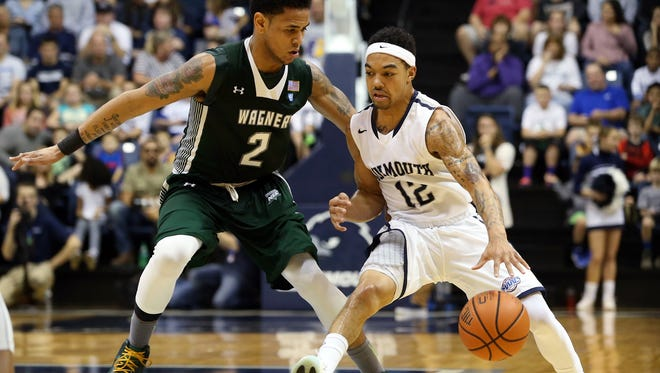 Monmouth tops Wagner 73-54 during the Hawks home opener, Sunday, December 13, 2015, in West Long Branch.
