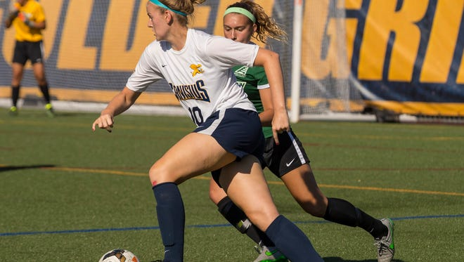 Maddie Good, of Palmyra, is a junior forward for Canisius College.