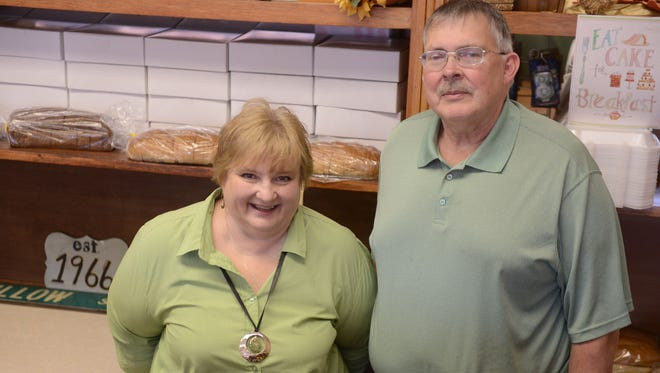 Jill and Mark Baldwin, owners of Willow Street Bakery, will close the business on Oct. 31 after 24 years of operating the bakery on University Avenue in Green Bay.