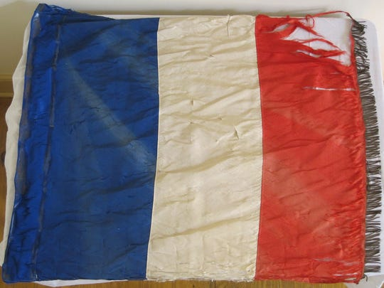 A 1919 Paris Peace Parade Conference Flag in the collection of the Woodrow Wilson Presidential Library & Museum has been selected for the 2017-18 Virginia Association of Museum's program, Virginia's Top 10 Endangered Artifacts.
