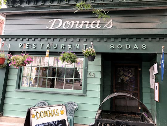 Donna's Restaurant, a fixture on Market Street in Corning