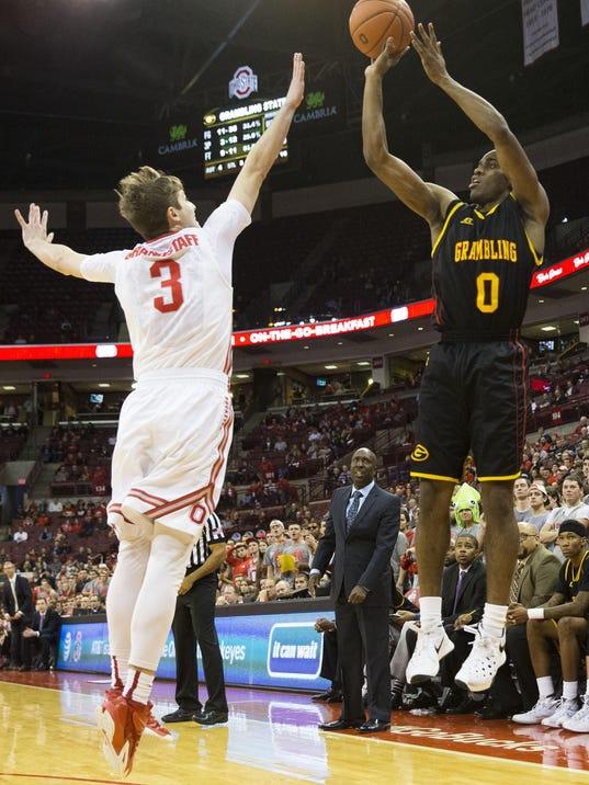 NCAA Basketball: Grambling State at Ohio State