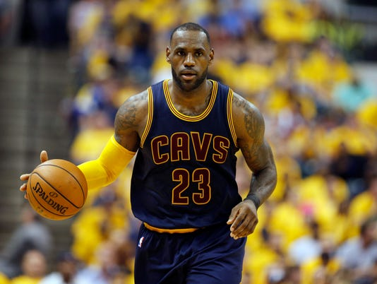 USP NBA: PLAYOFFS-CLEVELAND CAVALIERS AT INDIANA P S BKN IND CLE USA IN