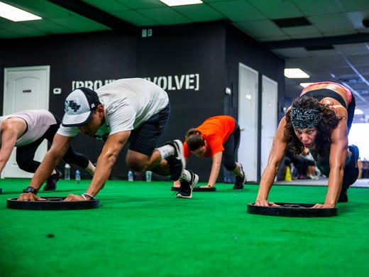 Meet Me at the Gym: Project Evolve pushes limits with daily