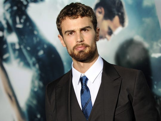 C'mon, Theo James. Lay your best Bat voice on us.