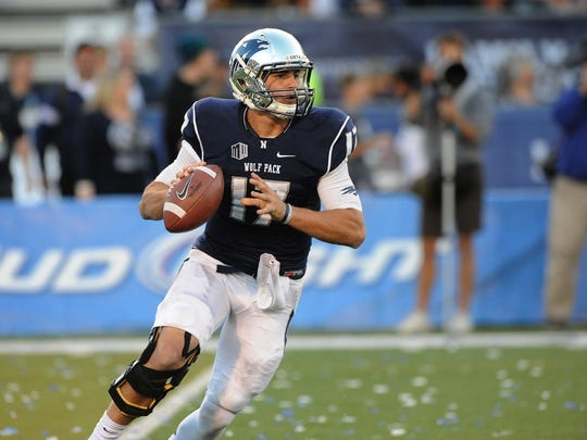 Cody Fajardo led Nevada in passing for four straight seasons before beginning his pro football career.